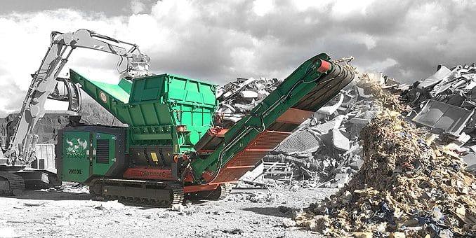 Westerwald Produkt Excellence - Haas Recycling Systems - TYRON Zerkleinerer