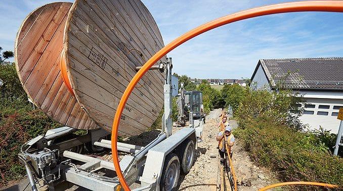 Breitband-Ausbau in Altenkirchen,