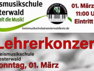 Lehrerkonzert Kreismusikschule Westerwald