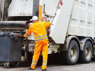 Abfallentsorgung bei Straßenbaumaßnahmen