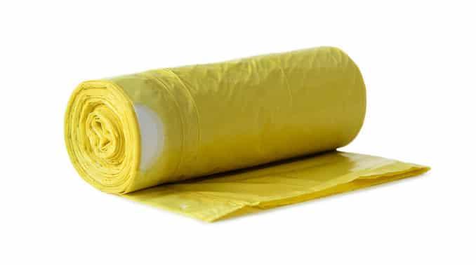 Verpackungsabfälle: Hier gibt es die Gelben Säcke!