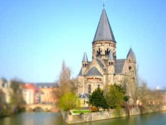 Studienreise nach Metz in Frankreich