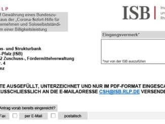 Antrag Soforthilfen ISB-1