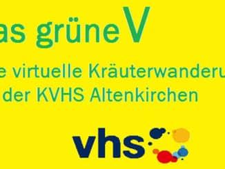 Das grüne V - Kräuterwanderung KVHS Altenkirchen