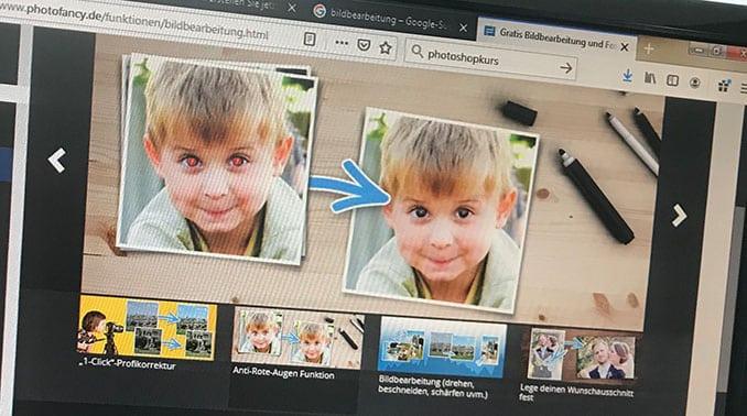 Online die erste Schritte in die Welt von Photoshop wagen