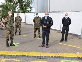 Bundeswehr unterstützt Fieberambulanz