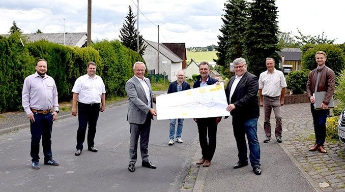Straßensanierung K58 Mendt / Asbach - Kreis Neuwied