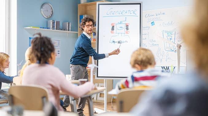 In kleinen Schritten zum digitalen Klassenzimmer