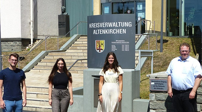 Ausbildungsstart für Verwaltungsfachangestellte - Kreis Altenkirchen