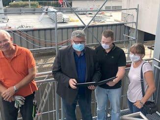 Bau- und Sanierungsmaßnahmen: Reger Betrieb in den Schulen des Landkreis Neuwied