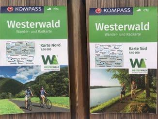 Rad-Wanderkarten Nord und Süd - Westerwald