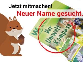 Namenswettbewerb Umweltkompass - Wir-Westerwälder