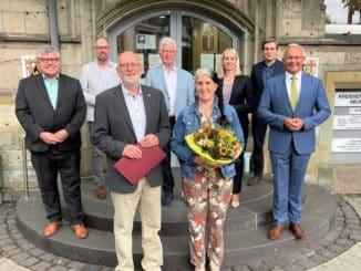 Mehr als 30 Jahre das Gesicht der Kreisverwaltung Pressesprecher Jürgen Opgenoorth tritt in den Ruhestand