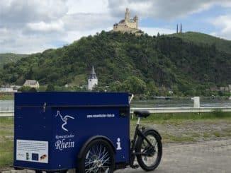 """Rad-Roadshow """"Romantischer Rhein vor Ort"""" Mobile Tourist-Information lädt zu Austausch und Information ein"""