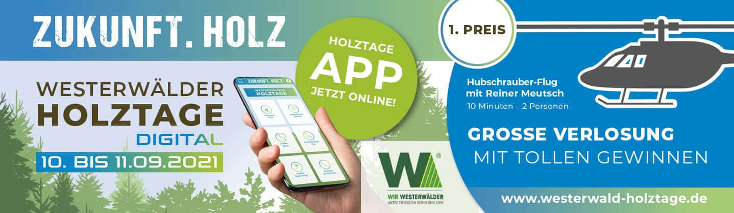 Westerwälder Holztage Gewinnspiel