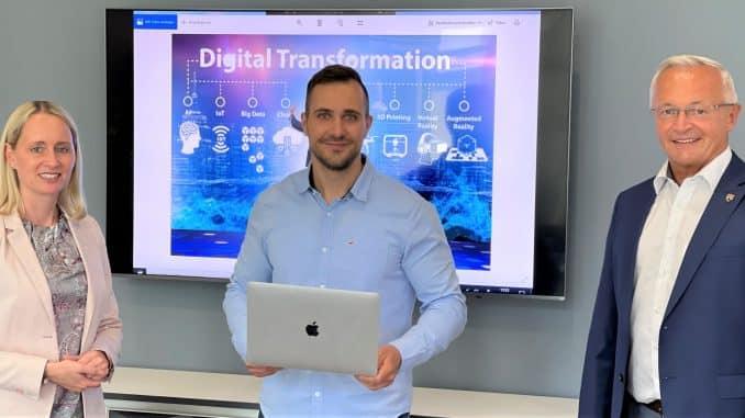 Torben Schmidt koordiniert die Digitalisierung der Kreisverwaltung