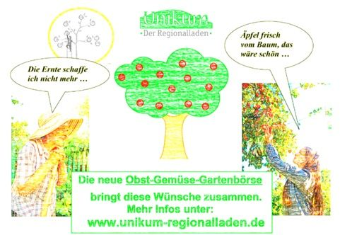 Obst-Gemüse-Gartenbörse