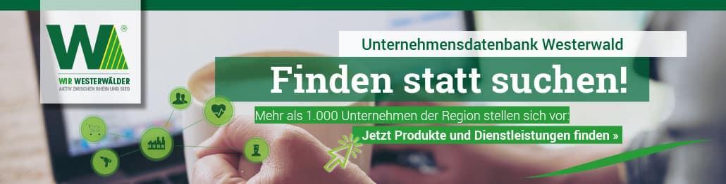 Top-Teaser Unternehmesdatenbank Westerwald