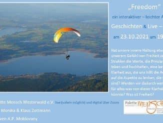 Palette Mensch - Freedom